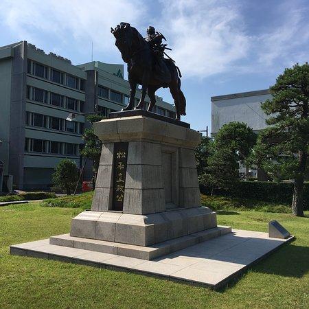 Horse-Riding Matsudaira Naomasa Statue