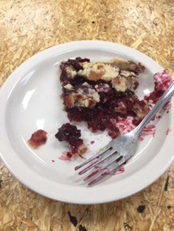 Fredonia, KS: Blackberry pie