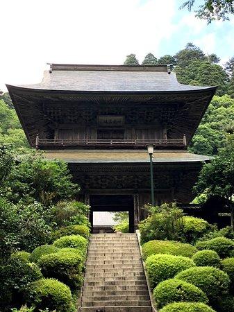 Unganji Temple: 階段が急です。
