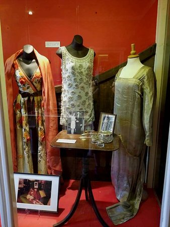 Renishaw Hall And Gardens: Garments on display at the Sitwell Museum
