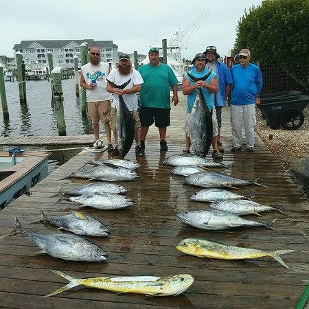 Manteo, NC: Big eyes & yellowfin