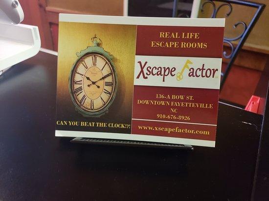 Xscape Factor - Escape Rooms Fayetteville NC Photo