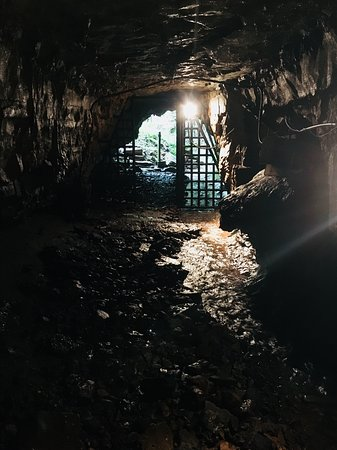 Adams, TN: Entrance to the Bell Witch Cave. There have been dozens of paranormal experiences reported here.