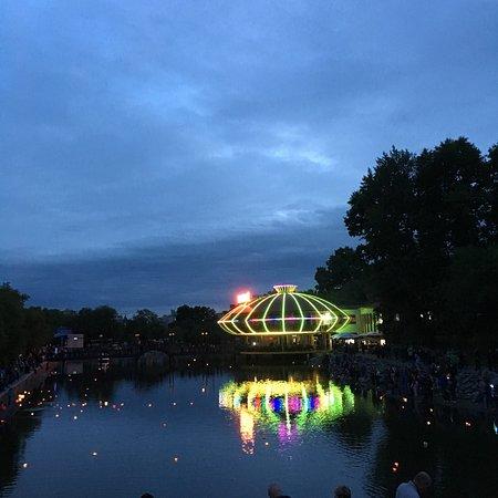 Khabarovsk City Ponds: Холодный летний вечер с танцующими фонтанами. Они и дали жару!