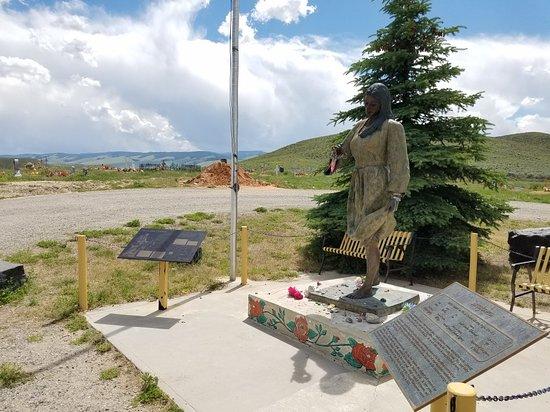 Fort Washakie, WY: Sacajawea Cemetery