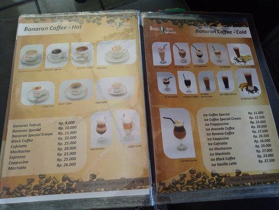 Banaran 9 Coffee & Tea: Banaran 9 Coffee Ambarawa