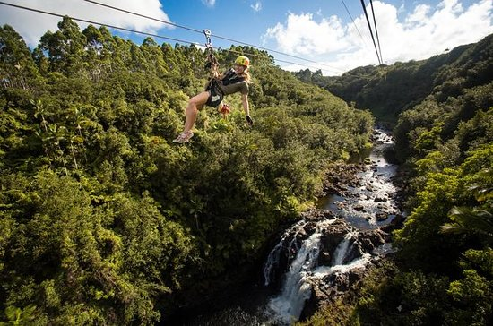 Big Island Zipline Tour en Hawaii ...
