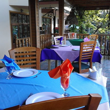 Gourmet Restaurant Casanova: Restaurant`s outdoor seating area