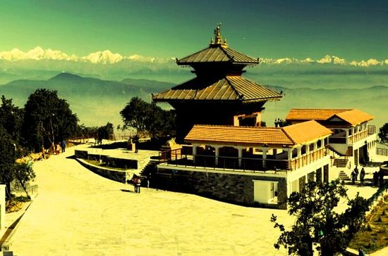 Explore as colinas de Chandragiri de...