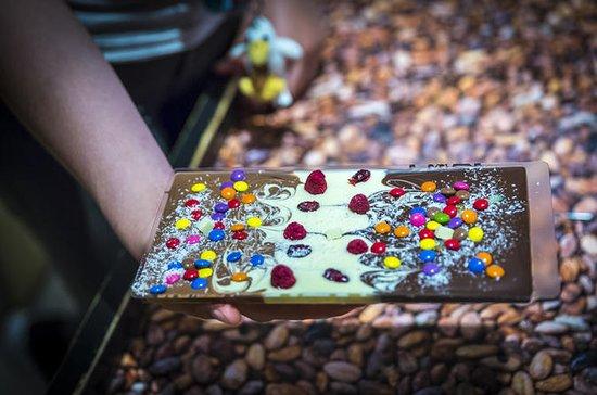 ルツェルンチョコレートチョコレートバーの創造と都市ツアー