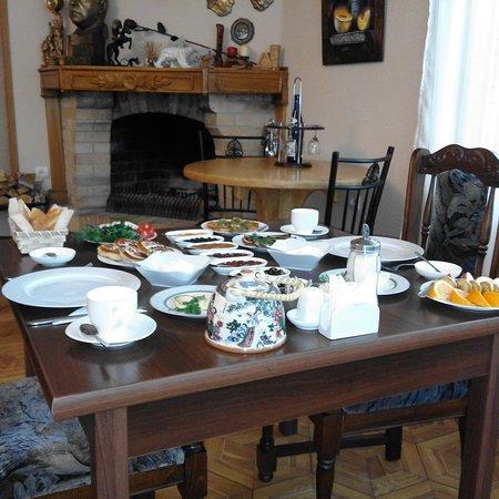 Gourmet Restaurant Casanova: Breakfast for two, AMD 3000 p/p