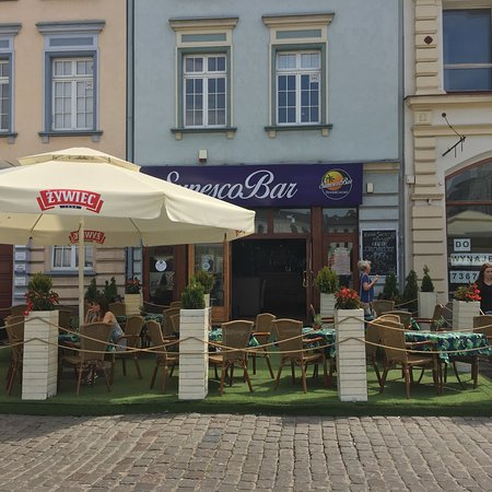 SunescoBar: Sunesco Bar at the Old City Square