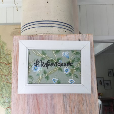 Kafe Hvidesøe: vibes
