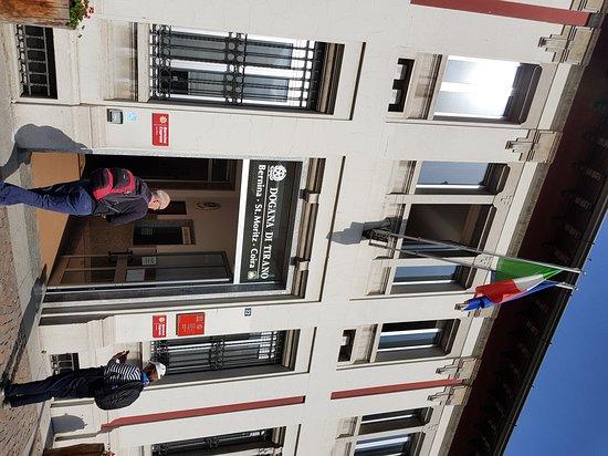 Bernina Express: Stazione di Tirano