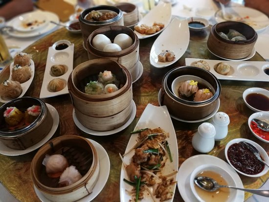 Man Ho Chinese Restaurant - at the JW Marriott Hotel Bangkok: Dim sum