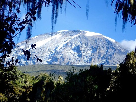 Moshi, แทนซาเนีย: Good view of mount kilimanjaro