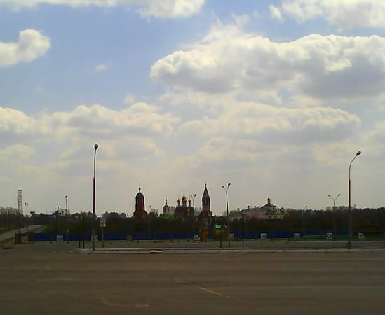 Kiselyovsk, Russia: Вид Храма