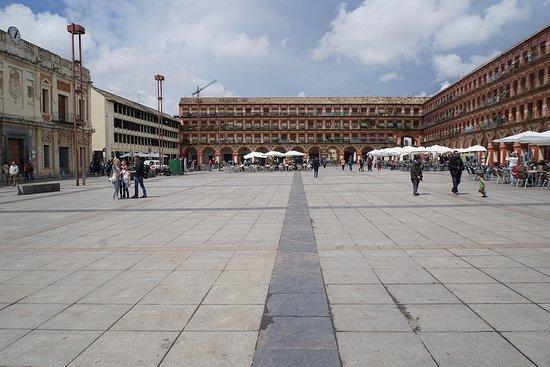 Plaza de la Corredera: 広場の俯瞰。