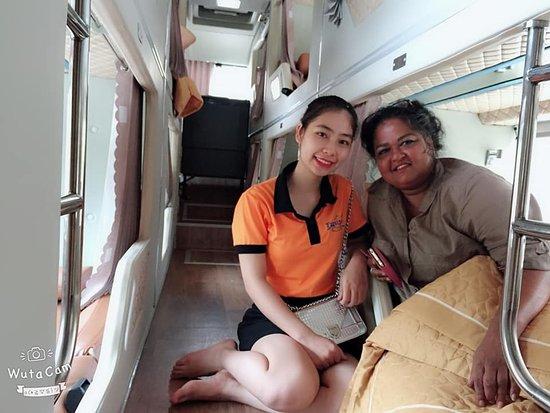 Fansipan Express Sapa Bus: solf sleeper sapa hanoi