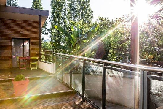 Spa Sur Terrasse Appartement terrasse de l'appartement trentemoult - photo de résid'spa - loire