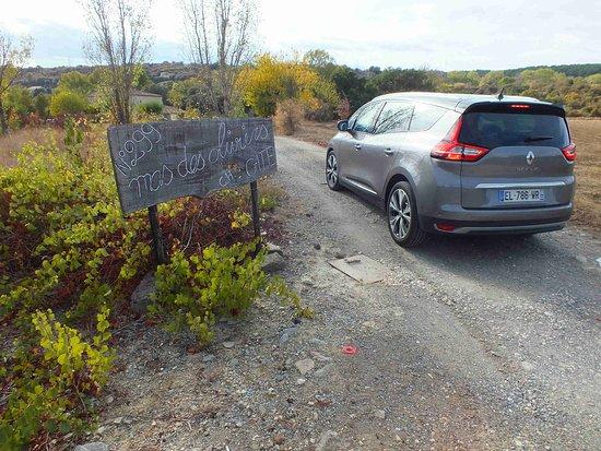Saint-Martin-de-Valgalgues, Frankreich: Off-road entry