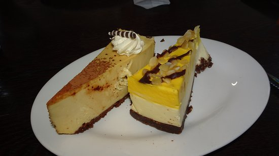 Marla, Austrália: generous Cheese Cakes