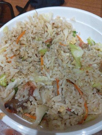 Sarina, Australia: Sweet and sour pork,combination fried rice