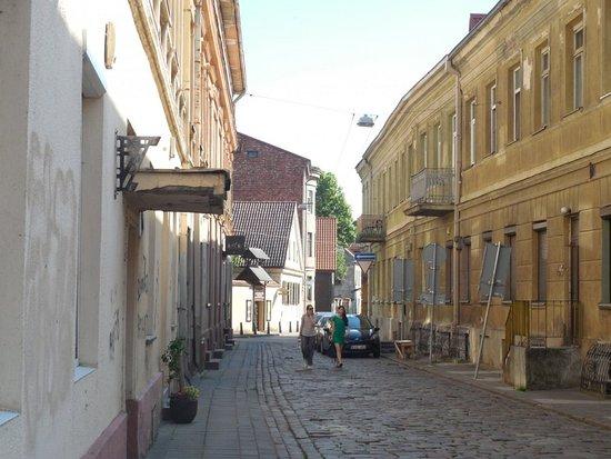 Старый город Каунас: Улицы старого города