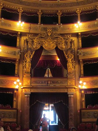 Teatro Massimo: Royal Box