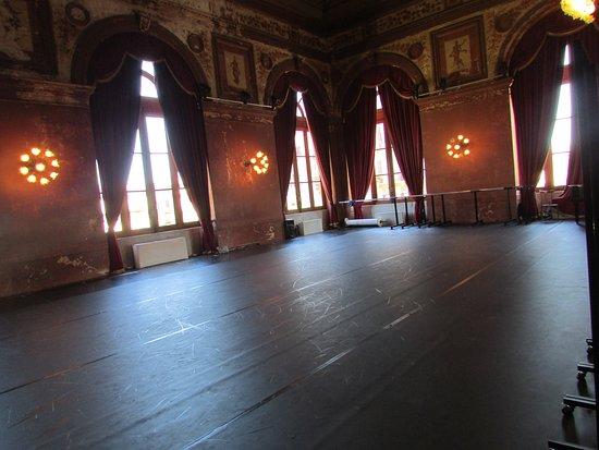 Teatro Massimo: Ballerina Practice Hall