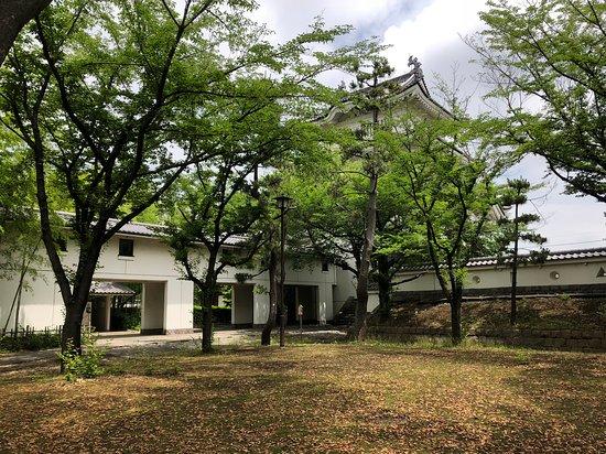 Onjo Castle: 公園内