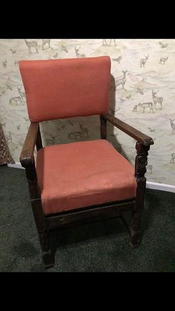 Abernethys Antiques and Curiosities: Pair of 19th century uniquely carved chairs made from 17thcentury pieces. £300 each.