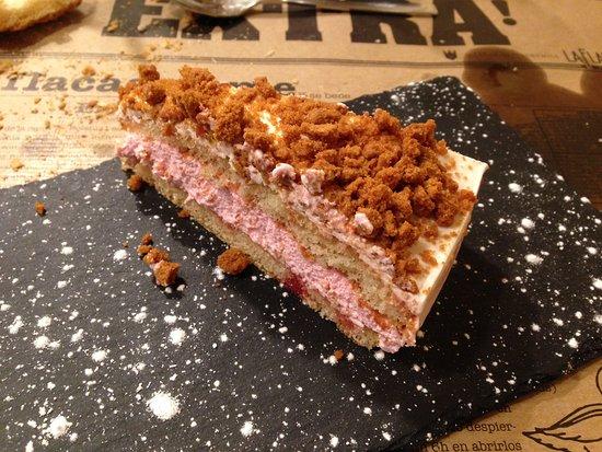 La Flaca Taberna Gastronomica: tarta de remolacha