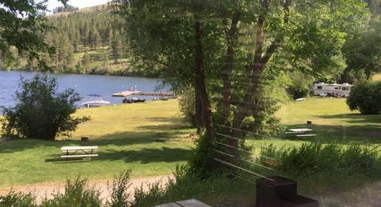 Silverline Resort RV Park & Campgroun: The view from my dining room window