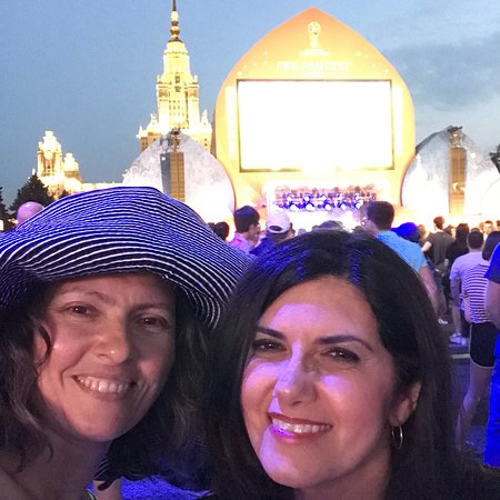 OuroborosTravel - Day Tours: FIFA WC 2018 Fan fest Sparrow hills Meshia, Iraqi lady from the US