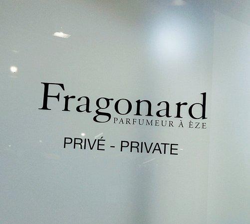 Parfumerie Fragonard - L'Usine laboratoire: вывеска