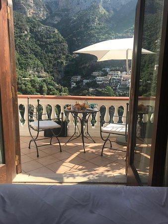 Villa Palumbo B&B: View from the room