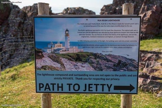 Rua Reidh Lighthouse: Lighthouse