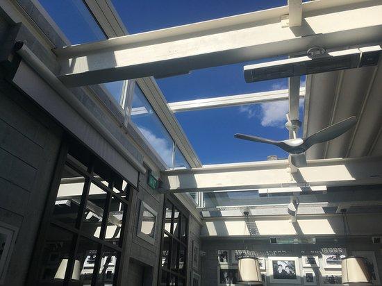Gino d'Acampo: Retractable roof
