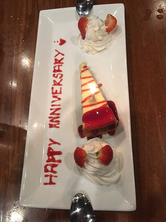 Phillips Seafood: Complimentary anniversary gift