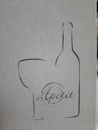 Restaurant Apetit: carta