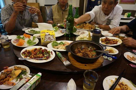 Xian Zhan Seafood Rechao Restaurant: いろいろ頼んでみました