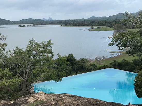 Heritance Kandalama: Infinity pool with breathtaking views of Kandalama lake