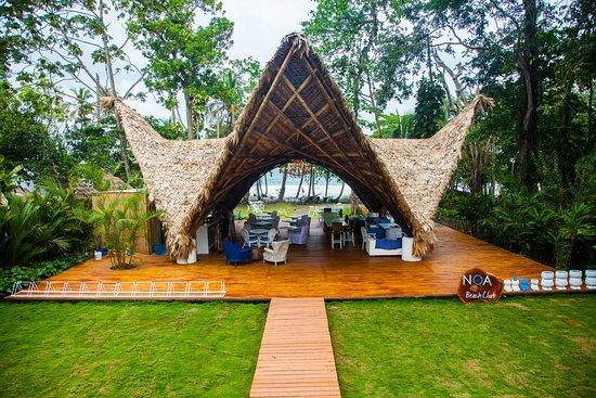 Le Cameleon Boutique Hotel: Noa Bar Restaurant Beach Club