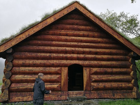 Holar, Исландия: The wooden house