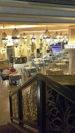 Albatros Palace Resort: Restaurantterrasse