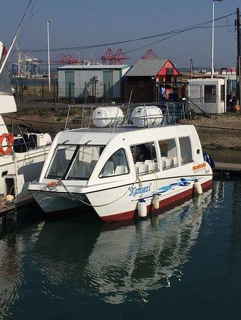 Sarie Marais Pleasure Cruises: Kanyezi Sea cruises