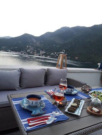 Tale House Montenegro: Terrace with Sea Breeze