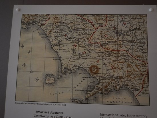 Museo Archeologico dei Campi Flegrei: Kort over området