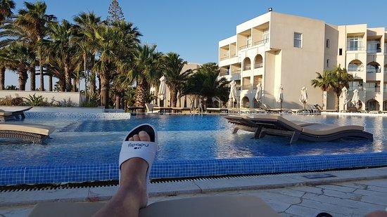 Iberostar Selection Diar El Andalous: Repos.piscine
